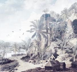 Noordwand Komar Raw Fotobehang R3-028 Dreamworld/Bomen/Palmboom/Botanisch/Natuurlijk/Tropical