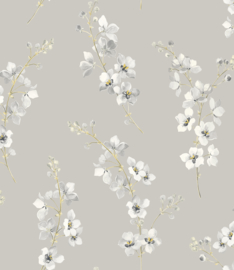 Nina Hancock/Stonyhurst NH50208 Klassiek/Romantisch/Bloemen Behang - Dutch Wallcoverings