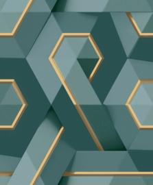 Dutch Wallcoverings Onyx Behang M35411 Modern/Grafisch/Abstract