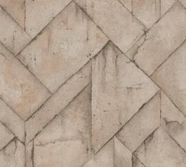 AS Creation Industrial Behang 37741-6 Modern/Grafisch/Blokken/Industrieel
