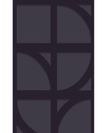 Eijffinger Bold Behang 395806 Grafisch/Modern/Geometrisch/Zwart