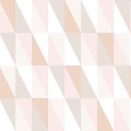 Esta Home Art Deco Behang 156-139196 Modern/Grafische Driehoeken/Pastel