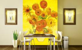 Dimex Fotobehang Sunflowers- Vincent van Gogh MS-3-0252 Zonnebloemen/Schilderij/Kunst/Bloemen