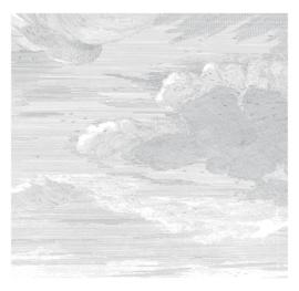 KEK Amsterdam II Fotobehang Panel WP-635 Engraved Clouds/Panels/Wolken/Natuur/Grijs