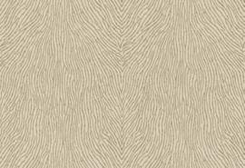 Hookedonwalls Karin Sajo 3 Behang  KS1205 Lames de Corail/Glasparel/Glassbeads/Huiden/Modern/Chic