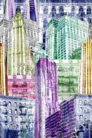 Behangexpresse ColorChoc Behang INK6066 Steden/Gebouwen/Tiener Fotobehang