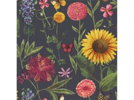 Arthouse Bloom Behang 676203 Summer Garden Charcoal/Floral/Bloemen