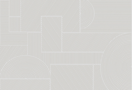 Hookedonwalls Sketch Behang 19541 Swerve/Modern/Grafisch/Lijnen