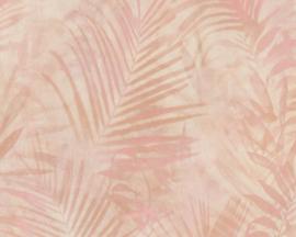 AS Creation New Studio 2.0 Behang 37411-4 Botanisch/Bladeren/Natuurlijk/Roze