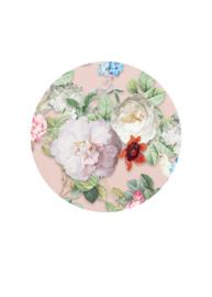 Behangexpresse Floral-Utopia Cirkel INK320 Sweet Rosa Pink/Bloemen/Vogels/Botanical