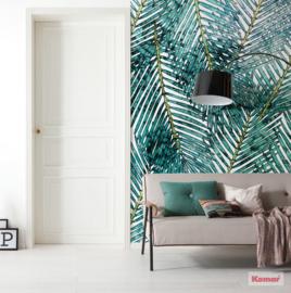 Komar Pure P025-VD2 Palm Canopy Lies/Bladeren/Modern/Botanisch Fotobehang Noordwand