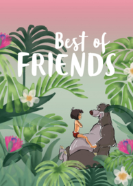 Komar/Disney Edition4 Poster/Affiche WB089 Jungle Book Best of Friends/Kinderkamer Afbeelding