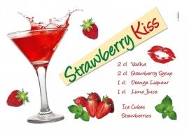 Sticker 17711 Strawberry kiss-Komar