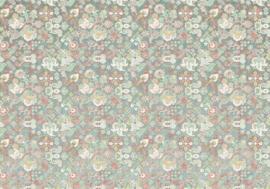 Komar/Noordwand Heritage Edition1 Fotobehang HX8-058 Fleurs d'Ocean/Bloemen/Retro Behang