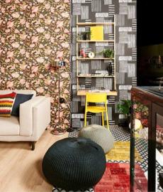 DesignDroom/SBS6 aflevering 15 november Eijffinger Sundari  Behang 375104