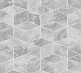 AS Creation Metropolitan Stories II Behang 37863-1 Cubes/Geometrisch/3D/Marmer/Steen/Modern/Geometrisch