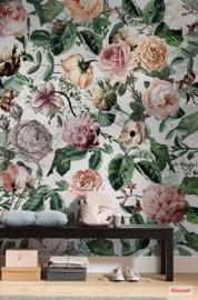 Komar Pure P021-VD2 Romance/Bloemen/Romantisch/Klassiek Fotobehang Noordwand