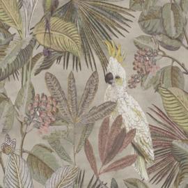 BN Wallcoverings Panthera Behang 220121 Tropisch/Vogels/Papegaai/Kolibrie/Botanisch