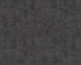AS Creation New Studio 2.0 Behang 37417-1 Uni/Structuur/Modern/Verweerd/Zwart
