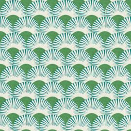 Onszelf Amazing Behang 539332 Modern/Linnen Structuur/Grafisch Blad/Boog/Natuurlijk