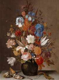 Painted Memories 2 Fotobehang 8038 Still life with Flowers 3/Bloemen/Stilleven/Klassiek  Dutch Wallcoverings