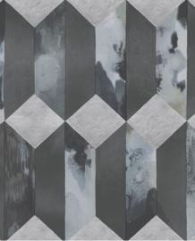 Eijffinger Enso Behang 386502 Retro/Geometrisch/Stoer/3D