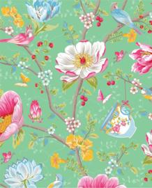 Eijffinger Pip Studio 3 Behang 341005 Romantisch/Bloemen/Groen