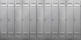 AS Creation AP Digital4 Behang 108571 Wardrobe/Deuren/Metalen kasten/Industrieel Fotobehang
