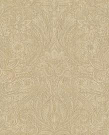 Eijffinger Sundari  Behang  375121 Barok/Etnisch/Verweerde Look/Ecru/Goud