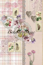 Behangexpresse ColorChoc Behang INK6069Romantisch/Planten/Bloemen Fotobehang