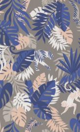 BN Wallcoverings #Smalltalk Behang 219305 Botanisch/Bladeren/Natuurlijk