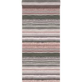 Origin Matieres-Stone Behang 349-337237 Marmer/Steen/Modern/Strepen/Natuurlijk