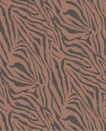 Eijffinger Skin Behang Fotobehang 300605 Zebra Blush/Dieren/Huiden/Natuurlijk