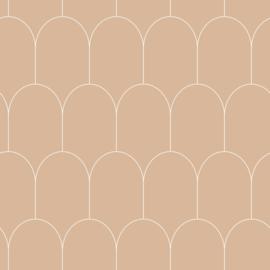 Esta Home Art Deco Behang 156-139203 Grafisch/Modern/Bogen/Lijnen