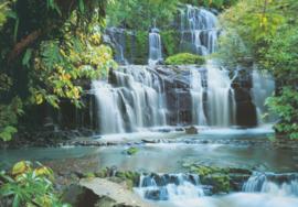 Komar Home Imagine Edition 4 Fotobehang 8-256 Pura Kaunui Falls/Nieuw Zeeland/Waterval/Natuur