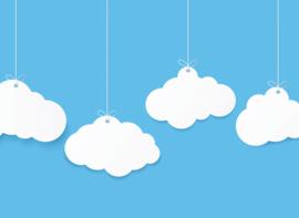 AS Creation Designwalls Fotobehang DD118640 Clouds 1/Wolken/Babykamer/Modern