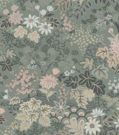Rasch Salisbury Behang 553321 Bloemen/Landelijk/Natuurlijk/Bogen