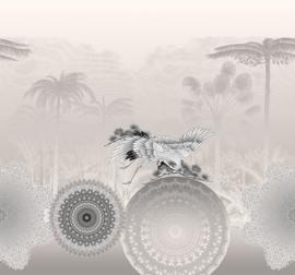 Behangexpresse Circle of Life/Select.D Fotobehang TD4176 Memory/Mandala/Kraanvogel/Botanisch