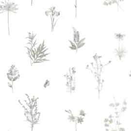 Noordwand Evergreen Behang 7341 Botanisch/Planten/Vlinder/Natuurlijk/Landelijk