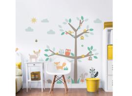 Walltastic Woodland Tree & Friends 44647 Sticker - Dutch Wallcoverings