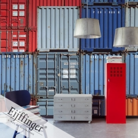 Eijffinger Wallpower Wonders Behang 321554 Cargo/Containers/Metaal/Containers Fotobehang