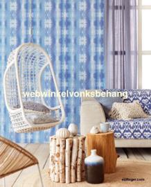 Eijffinger Stripes+  Behang 377082 Strepen/Blauwtinten