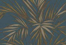 Hookedonwalls Tropical Blend Behang 33609 Kenzia/Botanisch/Bladeren/Natuurlijk