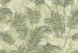 Hookedonwalls Blooming Behang BL22763 Allover Leaf/Botanisch/Bladeren/Natuurlijk/Landelijk