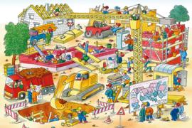 AS Creation Wallpaper 3 XXL Fotobehang 471675 Field/Bouwplaats/Werktuigen/Kinderkamer