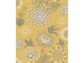 Arthouse Bloom Behang 676206 Vintage Bloom Mustard Yellow/Bloemen