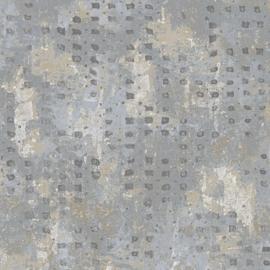 Rasch Dalia Behang 102505 Beton/3D Blokjes/Steen/Industrieel