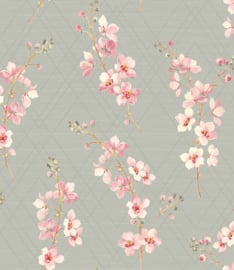 Nina Hancock/Stonyhurst NH50201 Landelijk/Klassiek/Bloemen Behang - Dutch Wallcoverings