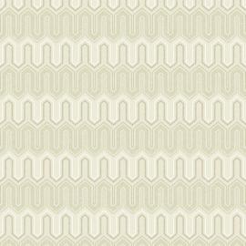 Rasch Galerie Geometrix Behang GX37615 Geometrisch/Modern/Landelijk/Olijfgroen