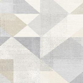 Rasch Galerie Geometrix Behang GX37655 Geometrisch/Modern/Driehoek